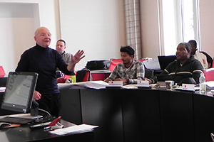 Jacques Forster  Introduction to Humanitarian Action class