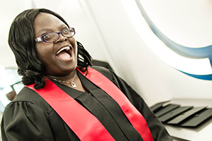 Juliet Bvekwa  MASHLM graduate