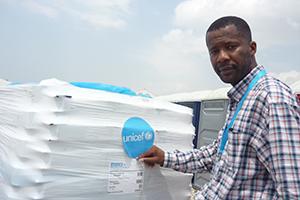 Patrick Efinda-Kaso Logistics Specialist UNICEF