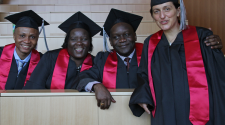 MASHLM 01 grads -  Master of Advanced Studies in Humanitarian Logistics and Management