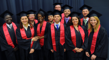 MASHLM 02 graduating class -  Master of Advanced Studies in Humanitarian Logistics and Management