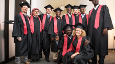 MASHLM 03 graduation -  Master of Advanced Studies in Humanitarian Logistics and Management