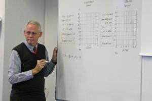 Supply Chain Management Principles class + Prof. Gerard de Villiers at MASHLM