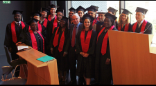 MASHLM 01 grads -  Master of Advanced Studies in Humanitarian Logistics and Management