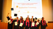 MASHLM 06 graduation ceremony - caps