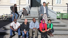 MASHLM 06 students in front of USI