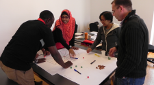MASHLM 06 students creating a game