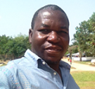 MASHLM student Sando Dogba in Liberia